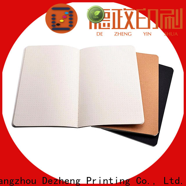 Dezheng funky thin paper notebooks For student