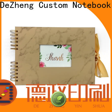 Dezheng photo professional leather photo albums Suppliers For photo saving