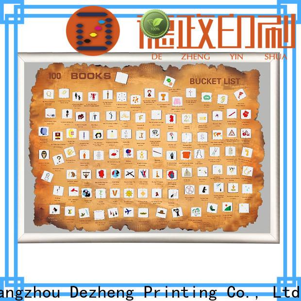 Dezheng must 100 books factory For