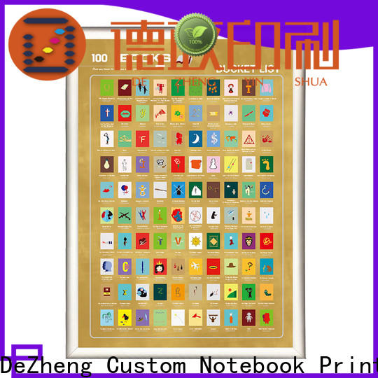 Latest book scratch poster list Suppliers For movies collect
