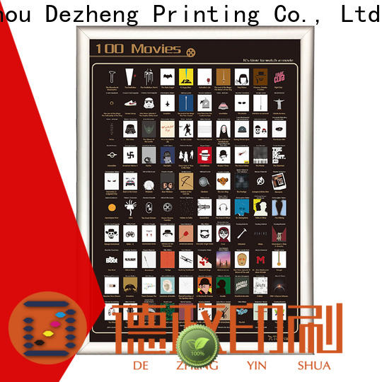 Dezheng Custom 100 must see movies for movie collect