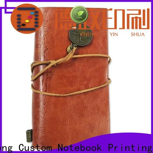 Dezheng leather bound lined journal Supply For meeting