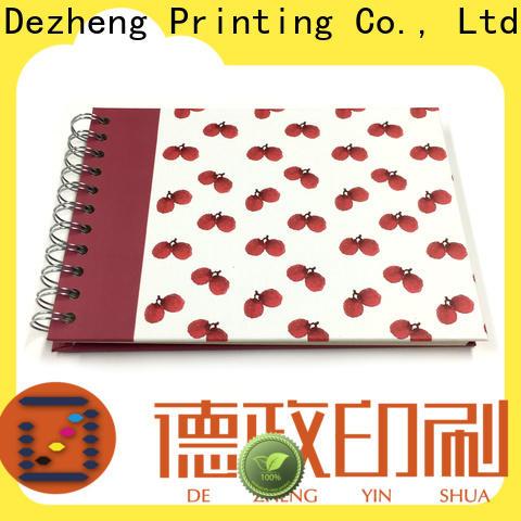 Dezheng binding self adhesive photograph albums for gift