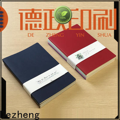 Dezheng funky Factory Direct Notebooks company For meeting