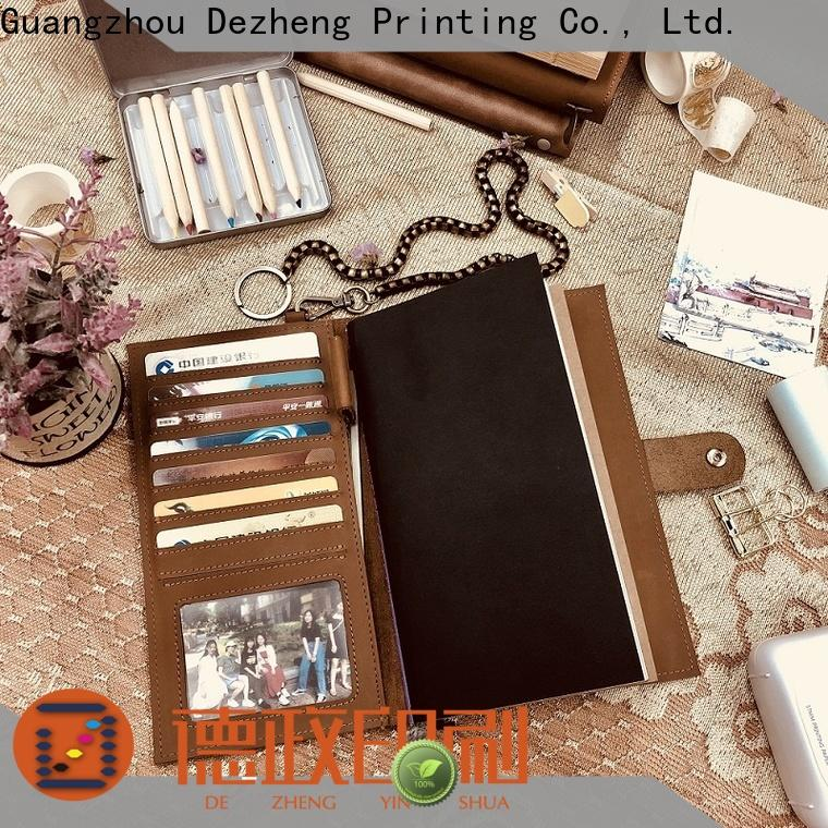 Dezheng real leather journal Suppliers For student