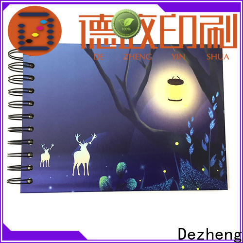 Dezheng cover scrapbooking album photo manufacturers for gift