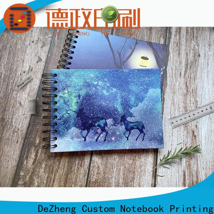 Dezheng portable scrapbook style photo album Supply for festival
