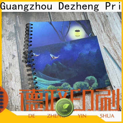 Dezheng New self adhesive scrapbook albums factory for gift