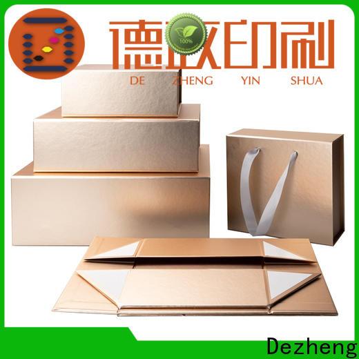 Dezheng customization cardboard gift boxes factory