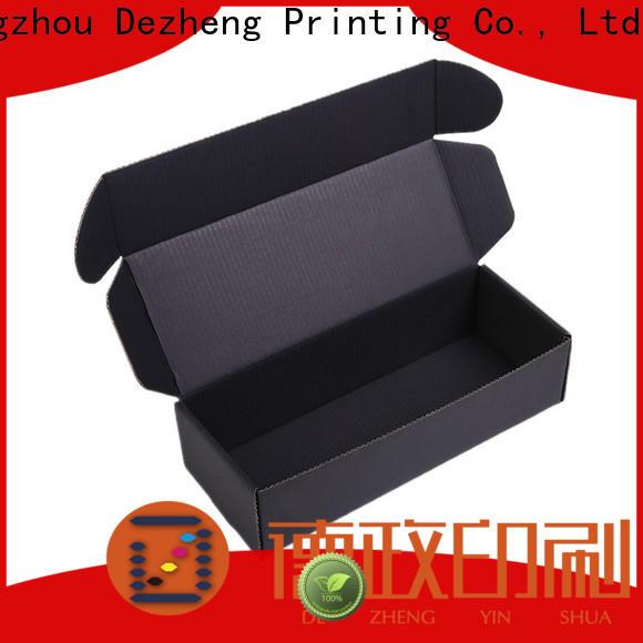 Dezheng company cardboard shoe boxes company