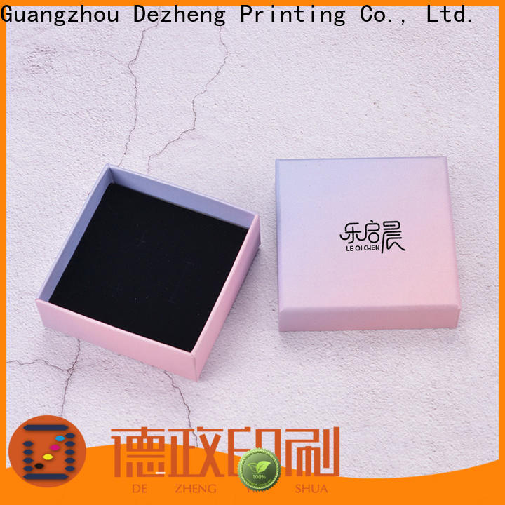 Dezheng recycled paper jewelry boxes manufacturers