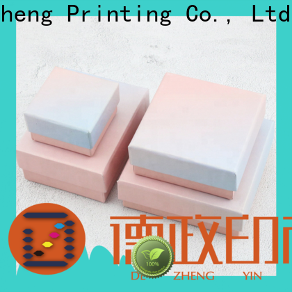 Dezheng paper packing box for business