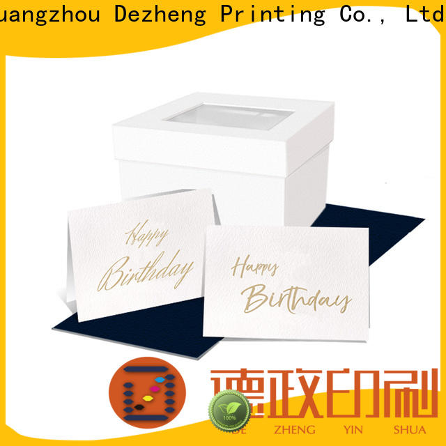 Dezheng happy personalised birthday cards customization For birthday