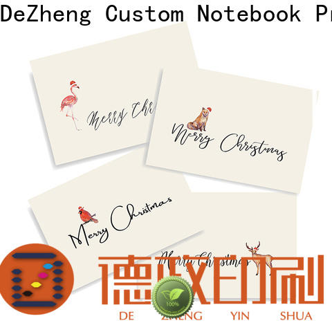 Wholesale merry christmas card pattern