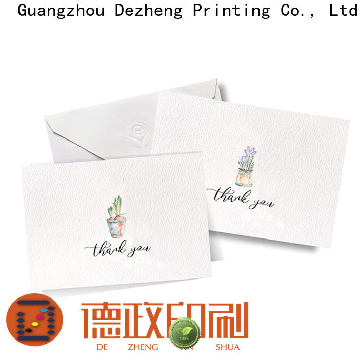 Dezheng you greeting card style Suppliers for gift