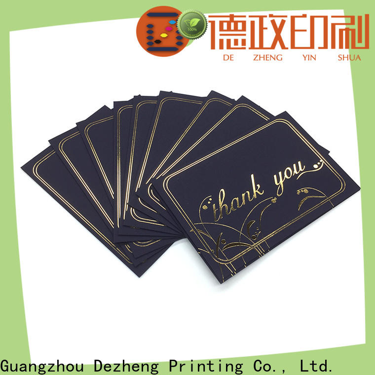 New custom holiday cards envelopes company for festival