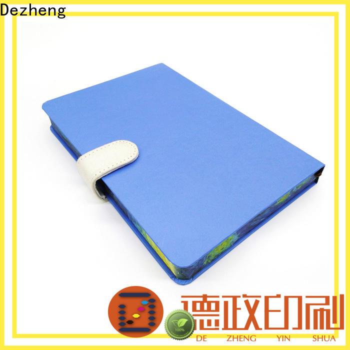 Dezheng latest hardback journal notebook customization For journal