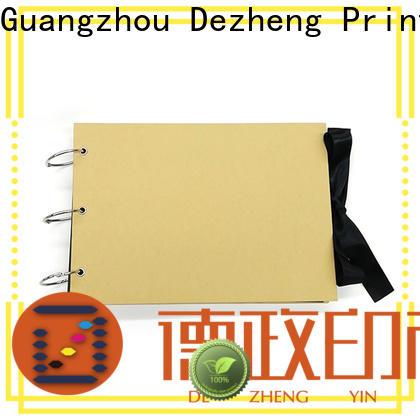 Dezheng High-quality scrapbook photo album Suppliers For Memory