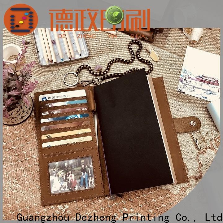 Dezheng leather bound travel journal company For business