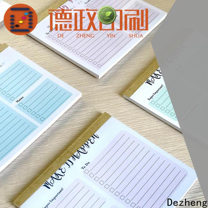 Dezheng to do list journal Supply