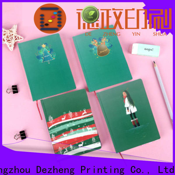 Dezheng elastic cheap hardcover notebooks manufacturers For journal