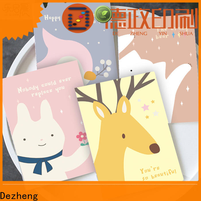 Dezheng dot Wholesale Paper Notebook Suppliers company For student