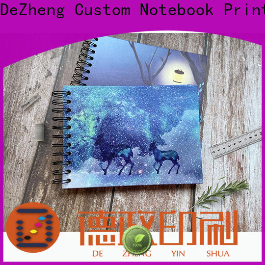 Dezheng High-quality photo album scrapbook factory for gift