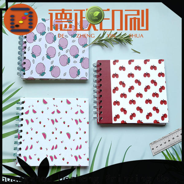 Dezheng durable Exercise Notebook Manufacturer company For Gift