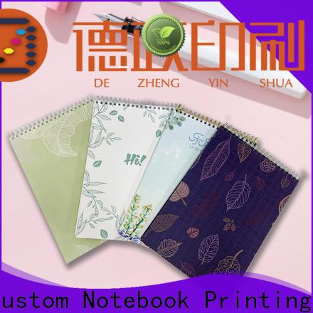 Dezheng durable cheap custom journals for wholesale for notetaking