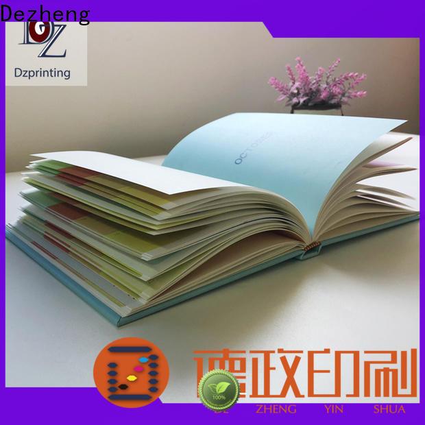 Dezheng durable custom made notebooks company For journal