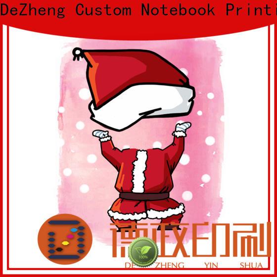 Dezheng animal custom christmas greeting cards for Christmas gift
