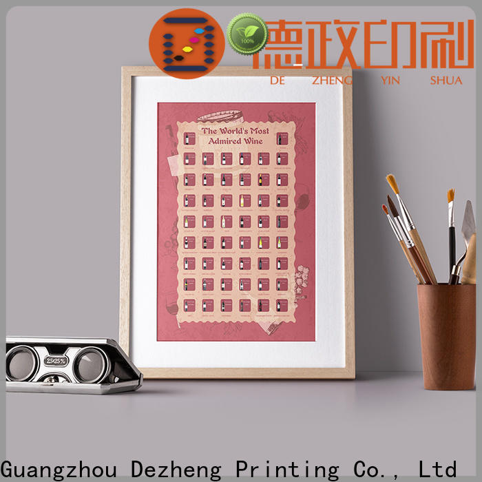 manufacturers scratch poster factory