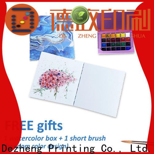 Dezheng custom printed moleskine bulk production for notetaking
