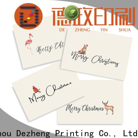 New custom design christmas cards merry customization