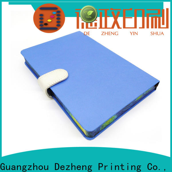 Dezheng blue hardcover engineering notebook factory For journal