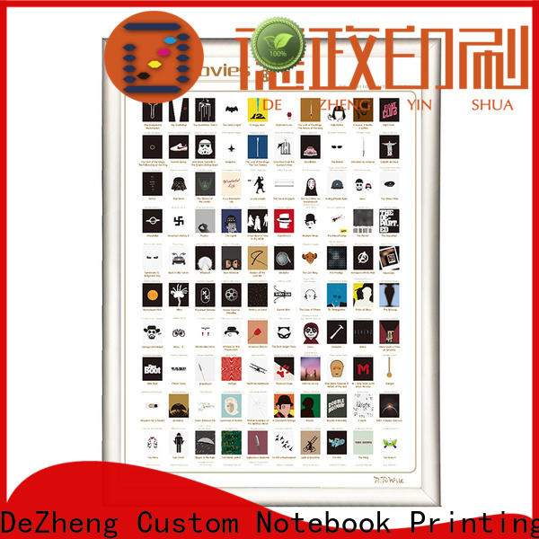 Dezheng off scratch off movies Supply for movie collect