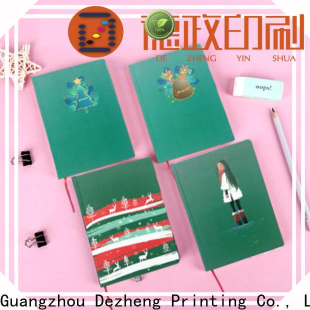 Dezheng notebook hardcover notebooks manufacturers For journal