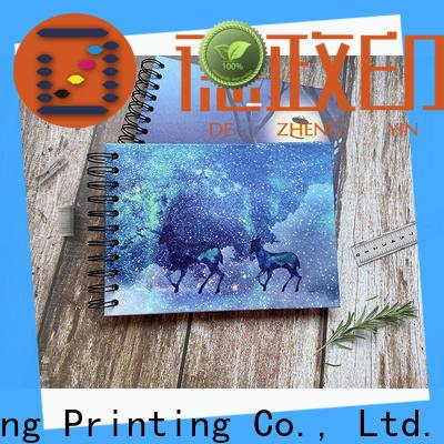 Dezheng Custom photo album scrapbook for festival