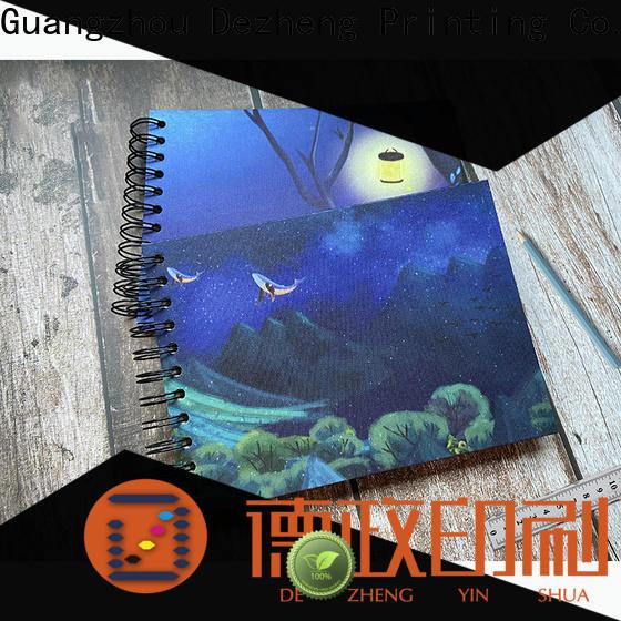 Dezheng Custom Spiral Notebook Manufacturers Suppliers For Gift