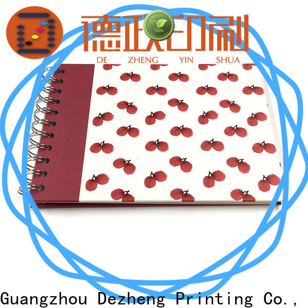 Dezheng string photo album with self stick pages factory for gift