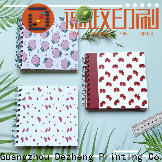 Dezheng Custom self stick albums for photographers Suppliers for gift