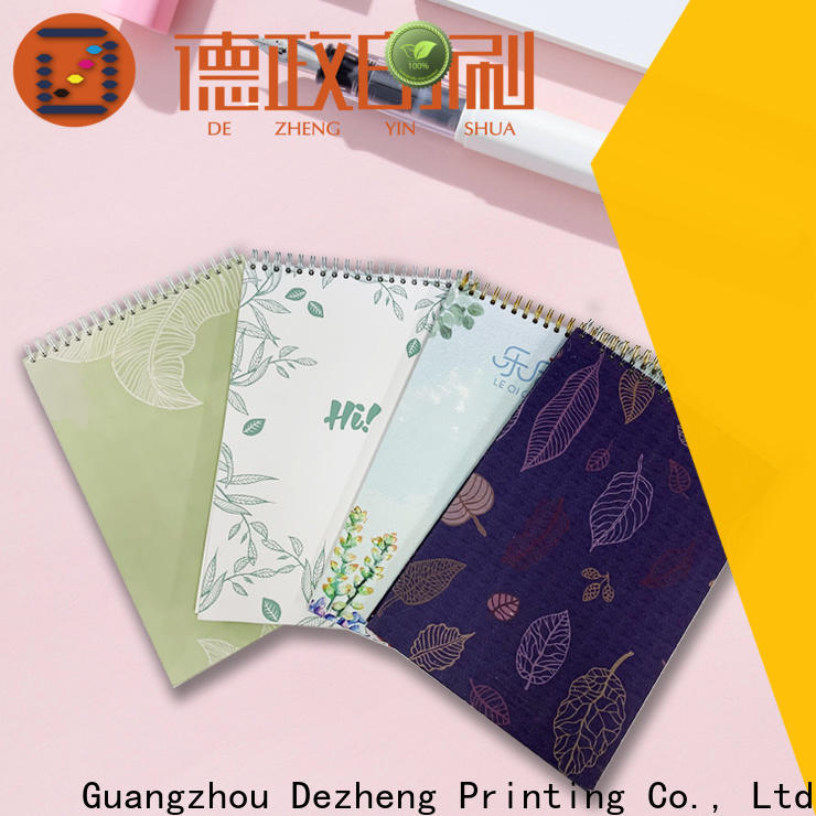 Dezheng High-quality School Notebooks Wholesale for notetaking