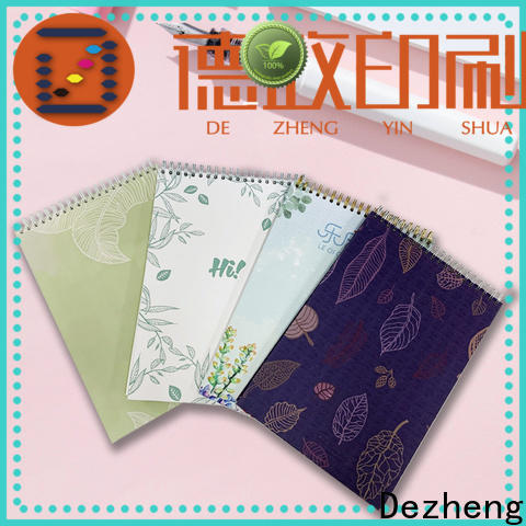 Dezheng custom leather notepad manufacturers for journal