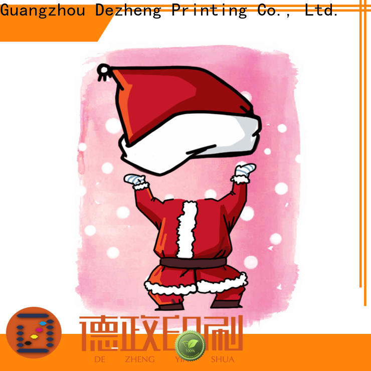 Dezheng greeting holiday christmas cards customization for Christmas gift