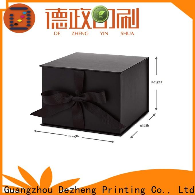 Dezheng cardboard packing boxes for sale customization
