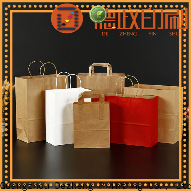 Dezheng kraft paper jewelry boxes for business