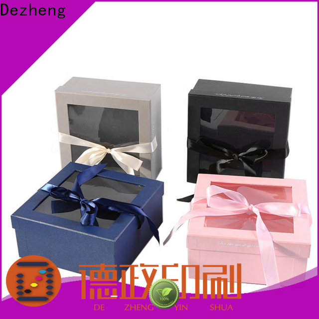 Dezheng for business paper box for sale