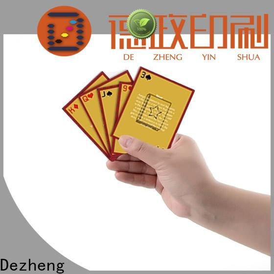 Dezheng for business scratch off poster manufacturers