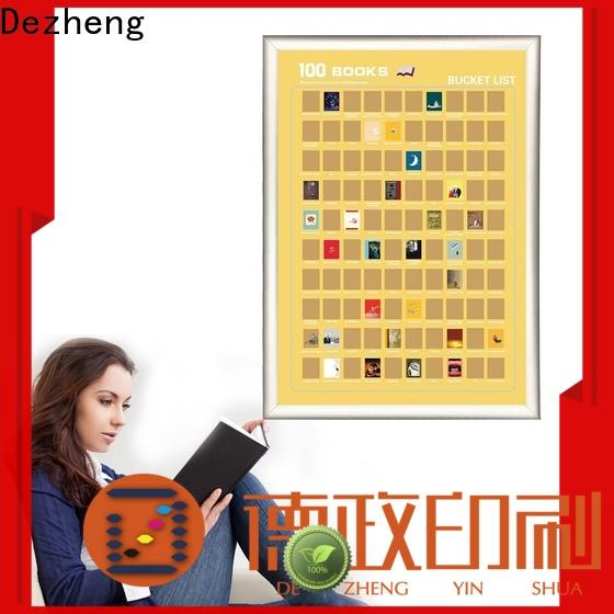 portable book scratch poster see Suppliers For movies collect