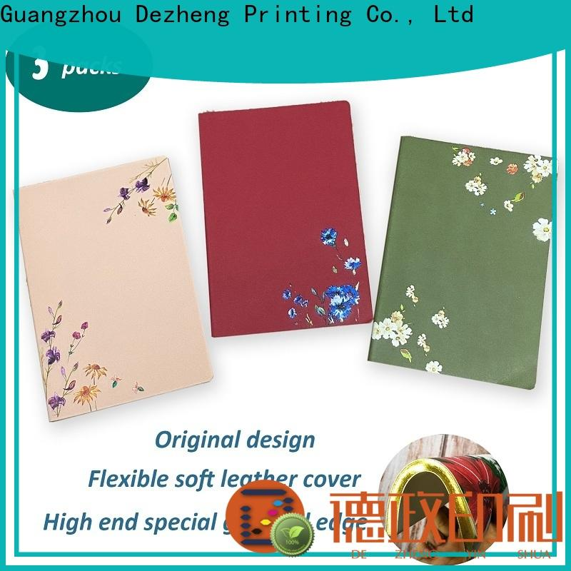 Dezheng cover Notebooks For Students Wholesale for business For school